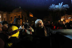 Beppe Grillo (M5S) in Palermo for the regional elections in Sicily