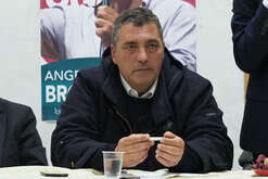 Angelo Broccolo, candidate for Liberi e Uguali party, college plurinominal Senate leaders in Calabria, southern Italy.