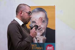 Berto Liguori, candidate for Liberi e Uguali party, at the plurinominal college in Calabria for the Chamber of Deputies.
