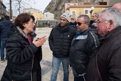Silvana Rosa Abate, candidate for the Chamber of Deputies for the 5 Star Movement in Calabria for the parliamentary elections of March 4, 2018.