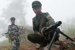 A soldier from the Kachin Independence Army (KIA) shows a German made machine gun captured from the Burma army during a recent clash. With 6,000 troops, the KIA is one of the best organized and equipped armed ethnic groups in Burma (Myanmar). In 1994, the KIA signed a cease-fire agreement with the Burmese junta. In April 2009, in the perspective of the November 7, 2010 general elections, the government ordered to the cease-fire ethnic groups to transform themselves into Border Guard Forces. Some groups have accepted but the most powerful such as the KIA, feeling threatened in their existence, have refused. In June 2011, following an incident between Burmese and Kachin soldiers, the cease-fire was actually broken, threatening to relaunch the war along the Chinese border.