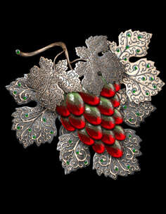 grapes; jewelry; jewelry grapes; art