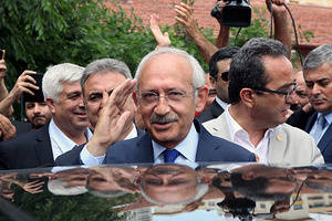 Republican Peoples Party (CHP) leader Kemal Kılıcdaroglu in the general election, Turkish voters headed to the polls in parliamentary election in Turkey.
