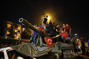 Coup d'état attempt on 15 July 2016 in Turkey